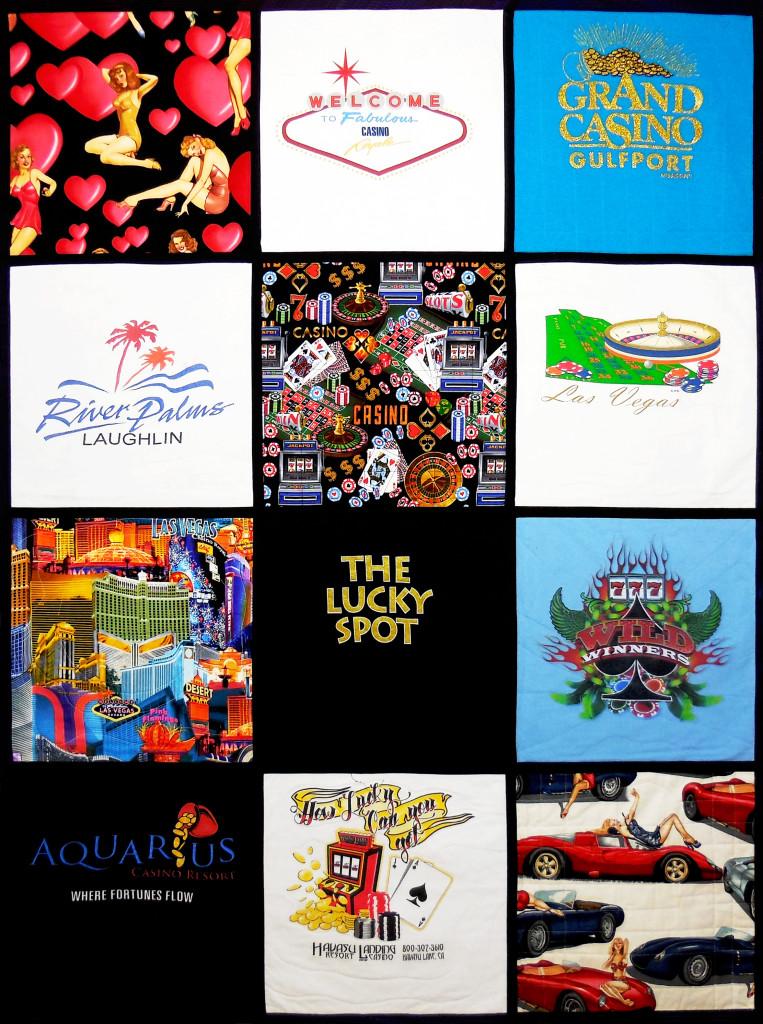 Las Vegas T-Shirt Quilt