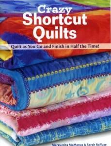 Crazy Shortcut Quilts Book Cover