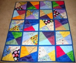 More Quilts from Michelle and Crazy Postcard Tute | Quilt As You Go : quilt as you go baby quilt - Adamdwight.com