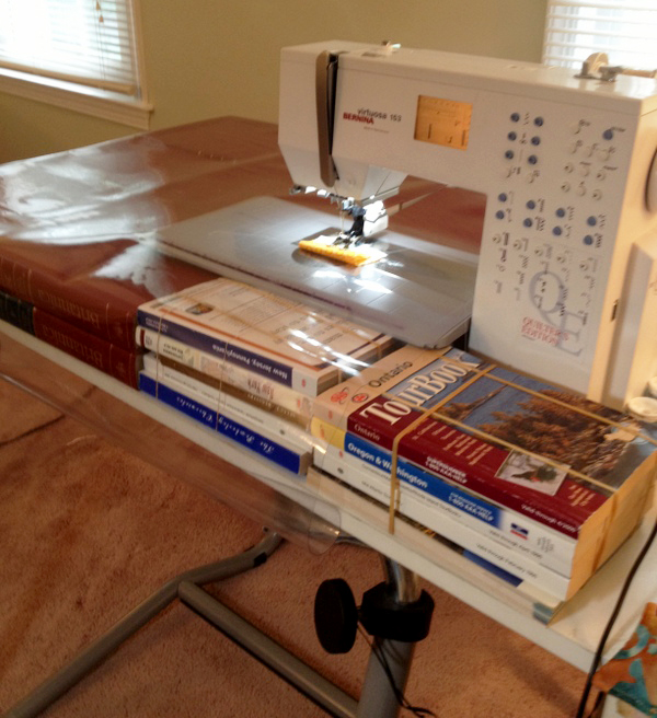 build your own sewing table 2