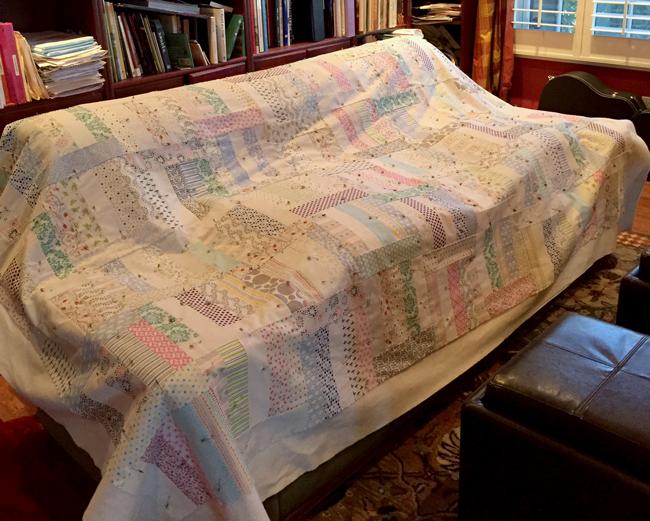 Caroline's First Quilt!