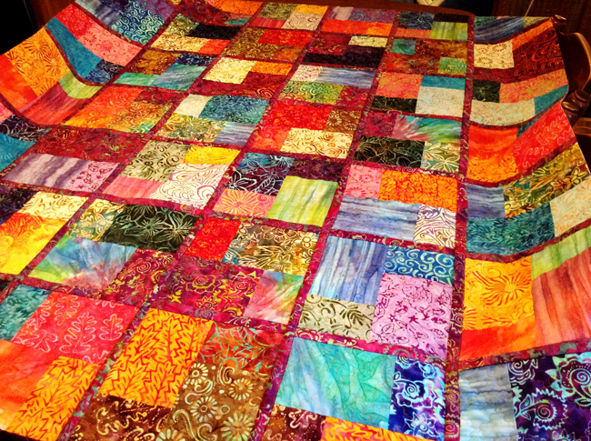 June Copeck's Quilt-As-You Go Quilt