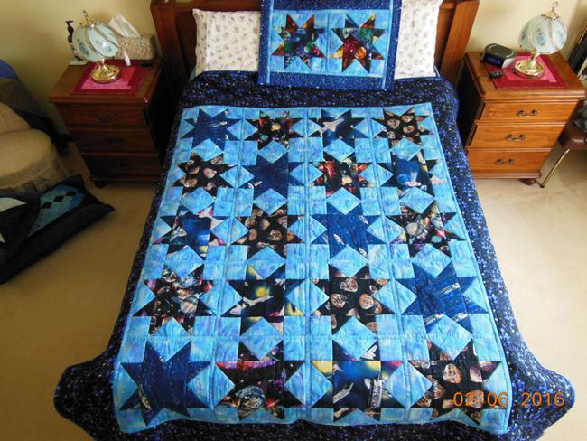 Robbie's Quilt by Bonnie Jenkins