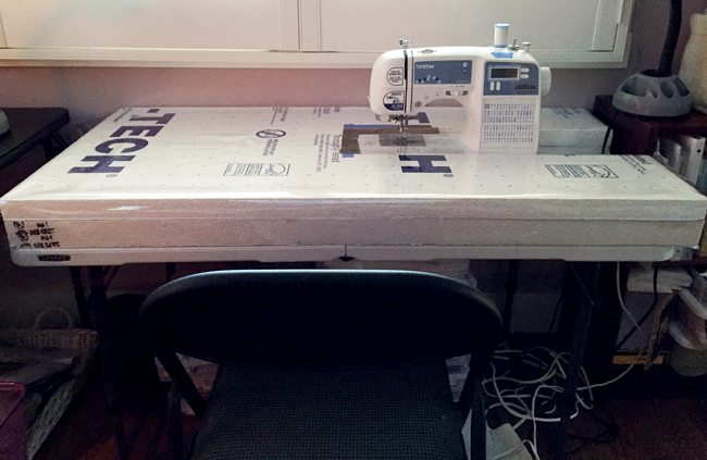 Caroline's Custom Sewing Table