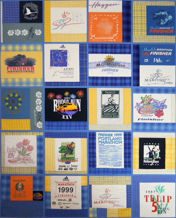 Tee Shirt Quilts Made Easy With Quilt As You Go